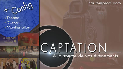 Prestation audiovisuelle de captation